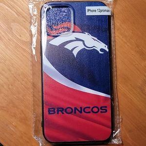 🌻 Broncos iPhone12 Pro Max case